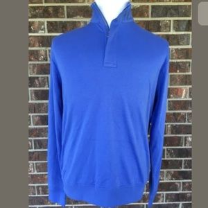 Polo Golf Ralph Lauren Zip Mock Neck Long Sleeve